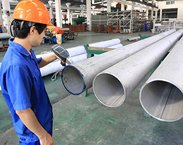 Inspection of Stainless Steel Pipes