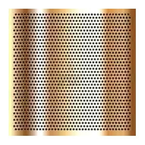 Copper Nickel 90/10 Perforated Sheets