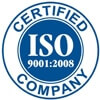 ISO 9001:2008 Certified Company