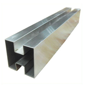 202 Stainless Steel Square Slotted Pipes