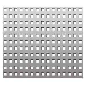 304/304L Stainless Steel Perforated Square Sheet